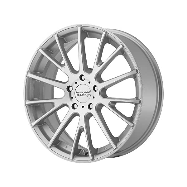 American-Racing-AR904-Bright-Silver-Wheel-with-Machined-Face-18x85x1143mm-45mm-offset