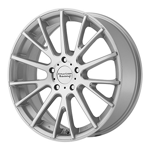 American Racing AR904 Bright Silver Wheel with Machined Face (18x8