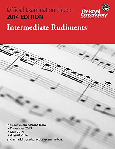 EX1402 - Official Examination Papers: Intermediate Rudiments 2014 Edition ebook