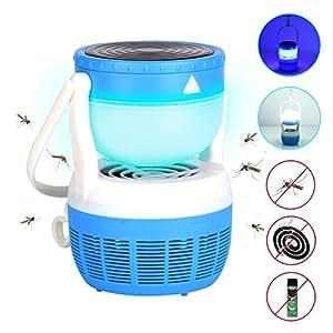 Amazon com : HILLPOW Mosquito Lure Trap Lamp Indoor Bug