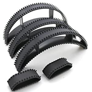 Big Happie Hair(TM) Big Happie Hair Bumpits, Black (Set Of 5)