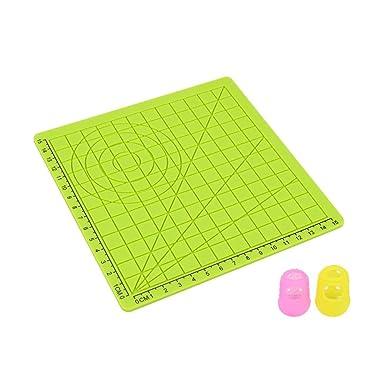 Broadroot Imprimante 3D Motif g/éom/étrique en silicone Dessin Template Pad pour stylo impression 3D