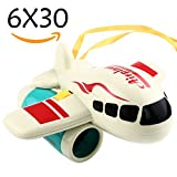 Binoculars For Kids, Can Adjust Focus, Airplane Looking, Yeonha Toys 6X30 binoculars Telescope For Child Toddler Preschool Early Learning science Educational Toy,Bird Watching,Outdoor Camp