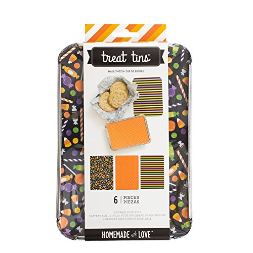 American Crafts 374261 Food Craft Tins Halloween Large 3 Pack by American Crafts