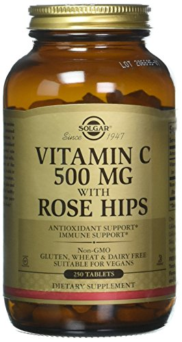 Solgar – Vitamin C with Rose Hips, 500 mg, 250 Tablets by Solgar