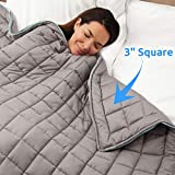 15lb Weighted Blanket + A FREE Minky