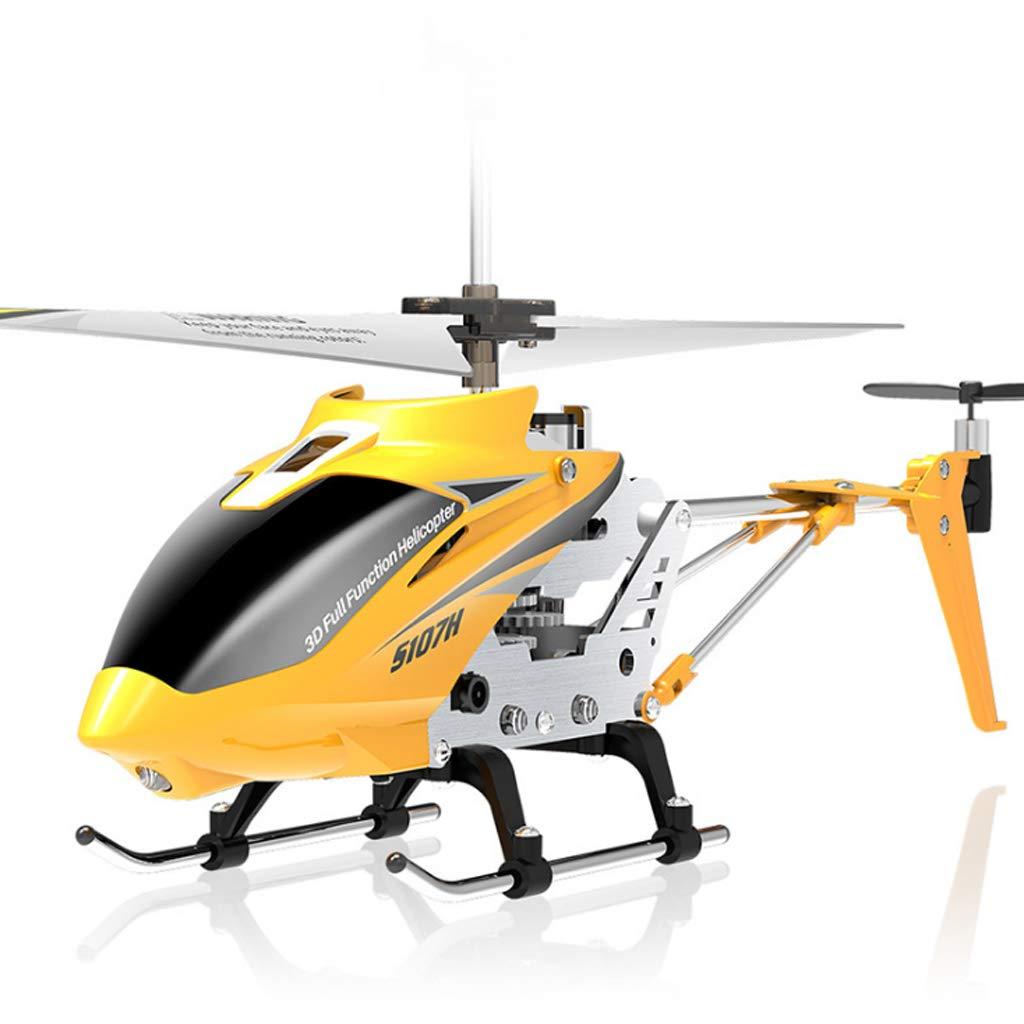 Droni Elicottero Nuova Versione Indoor Drone con Controllo giroscopico Scelta Migliore per Bambini e Principianti Giallo