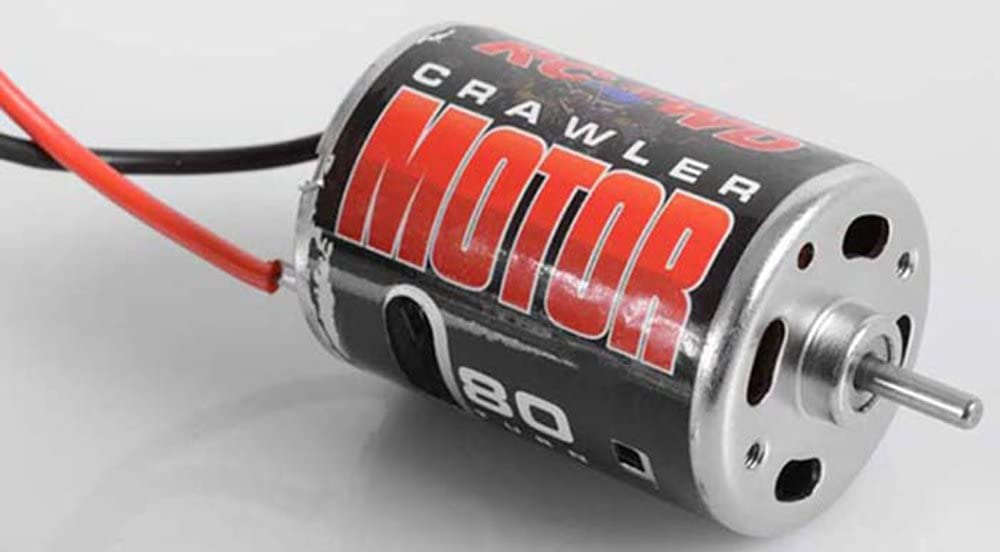 RC4WD 540 Crawler Brushed Motor by 80T Z-E0001 Bullet Connectors TF2 G2 SCX10 RC
