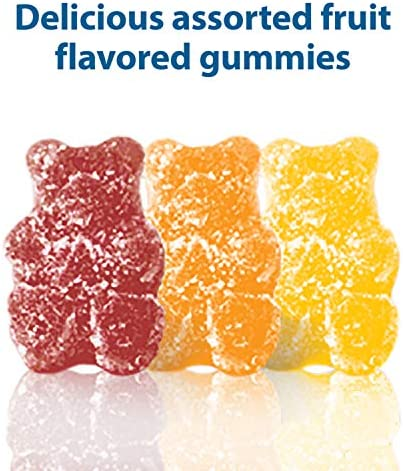 51X3FfjQIHL. AC - Digestive Advantage Daily Probiotic Gummy For Kids, 80 Count (Pack Of 1), Multi