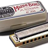 2014 Hohner Hohner Marine Band Harmonica, Key of A N/A