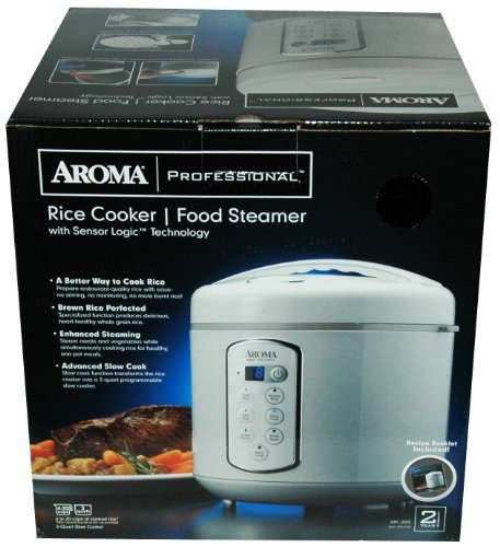 aroma 3qt rice cooker - 3