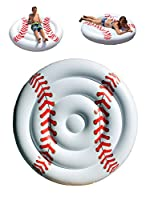 Baseball Pool Float-Giant Inflatable Swimming Pool Float for Boys Girls Coaches Players Sports Fans