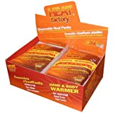 Heat Factory Hand and Body Heat Warmers, Large, 30 Pack by Heat Factory