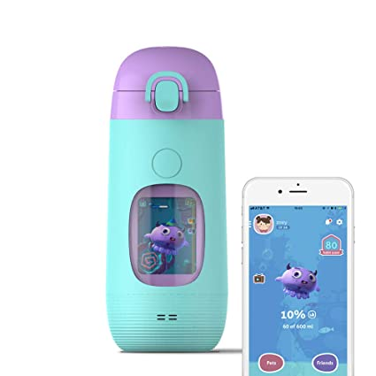 8d643544a2 Smart Water Bottle for Kids - GululuGo Interactive Water Bottle Includes  Games and Stories Along with
