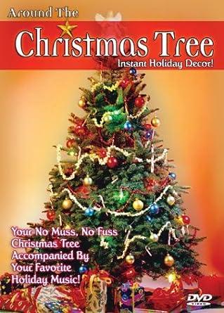 Amazon Com Around The Christmas Tree Instant Holiday Decor