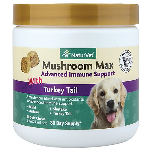 Picture of Nutri-Vet Mushroom Max Advance Immune Support for Pets 120ct