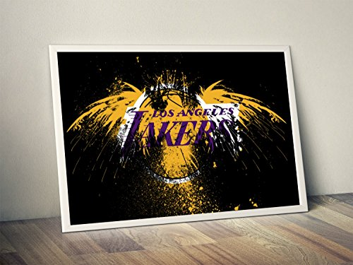 LA Lakers Limited Poster Artwork - Professional Wall Art Merchandise (More (8x10)