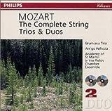モーツァルト : 弦楽三重奏曲、二重奏曲集
