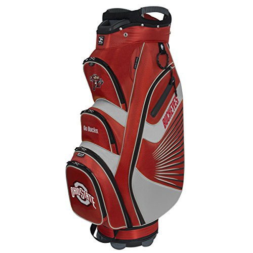 The Bucket II Collegiate Cooler Cart Bag - State Ohio Beverage Buckeyes