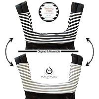 Kaydee Baby ONE PIECE ORGANIC Reversible Drool & Teething Pad With ORGANIC Fl...