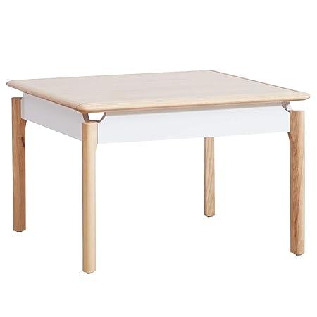 Table pliante en Mini Bois Massif Table Carrée Chunlan Basse sQBthrdCx