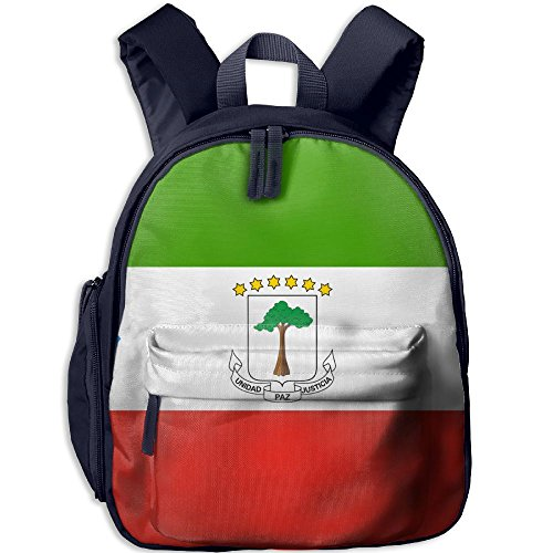 Nollm Flag Of Equatorial Guinea Kid And Toddler Student Backpack School Bag Super Bookbag ()