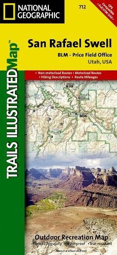San Rafael Swell [BLM - Price Field Office] (National Geographic Trails Illustrated - Cedar Park Shopping