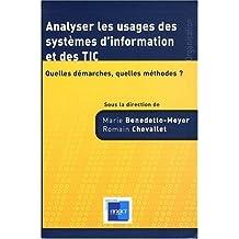 Analyser les Usages des Systemes d'Information et des Tic