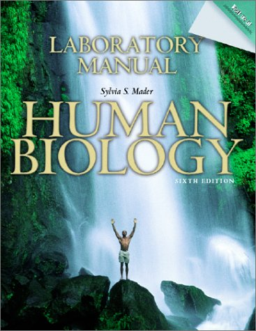 Lab Manual to accompany Human Biology