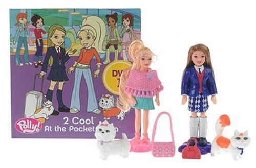 Polly and Pocket - 2 Cool at Pocket with Plaza - and DVD with Polly and Pia Dolls and Fashions B0007VVH1S, トヨナカチョウ:2ee43e19 --- arvoreazul.com.br