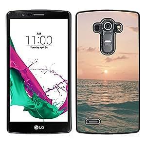 LG G4 / H815 H812 H810 H811 LS991 VS986 US991 Único Patrón Plástico Duro Fundas Cover Cubre Hard Case Cover - Ocean Sea Waves Surf Summer