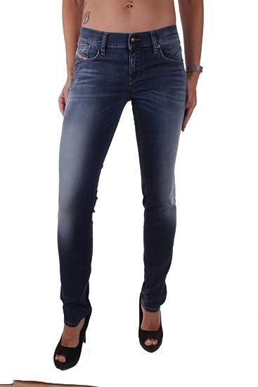 a45037b21046da Diesel Getlegg 0R605 Women's Jeans Trousers Slim Skinny: Amazon.co.uk:  Clothing