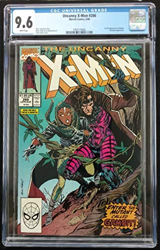 Uncanny X-Men (1981) #266 CGC Graded 9.6 1st Full Appearance Gambit (1997274004)