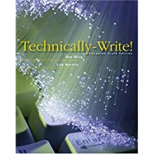 Technically Write! Sixth Canadian Edition (6th Edition)