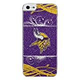 NFL Minnesota Vikings Bling iPhone 5/5S Applique, Purple/Yellow