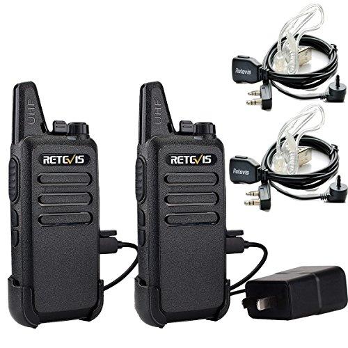 Retevis RT22 Two Way Radio UHF 16 CH VOX License-free Walkie