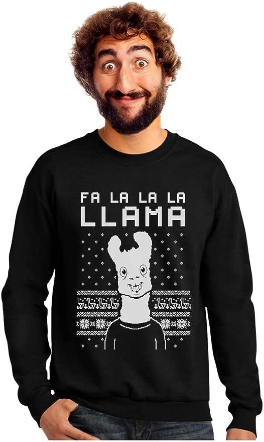 Fr La La Llama Christmas Jumper Sweatshirt Funny Ugly Sweater Men Kid Women L381
