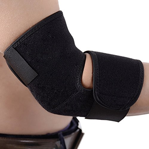 Adjustable Neoprene Elbow Support Brace, Arm Wrap Elbow support ,Breathable Sports Tennis Elbow Brace Stabilizer, Compression Tendonitis Protector Guard Pad for Weightlifting,Outdoor Activities, Elbow by Cbooming