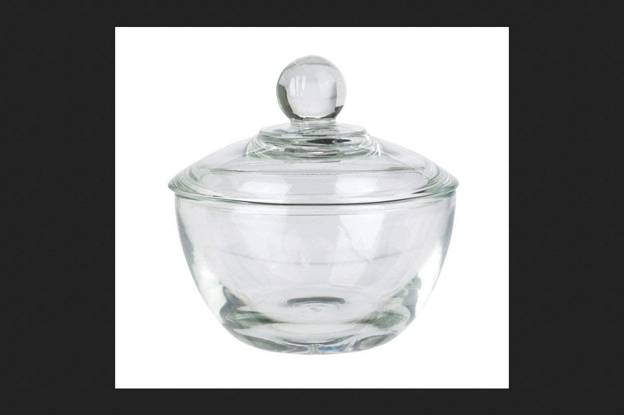 Anchor Hockings Brand Anchor Hocking Presence Glass Sugar Bowl with Lid, 1-Pack, Clear