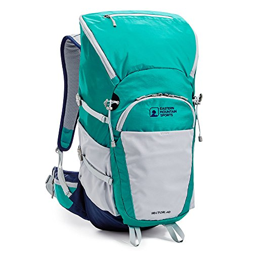 EMS Women's Sector 40 Backpack Columbia/Peacoat Green One Size