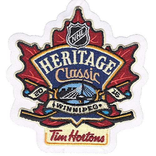 2016 NHL Heritage Classic Tim Hortons Jersey Patch Winnipeg Jets Edmonton Oilers