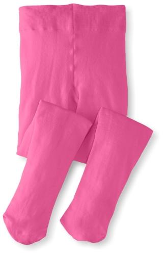 Jefferies Socks Little Girls'  Pima Cotton Tights, Bubblegum, 4-6 Years ()