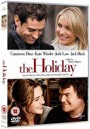 The Holiday Dvd 2006 Amazon Co Uk Cameron Diaz Jack Black Kate Winslet Jude Law Nancy Meyers Cameron Diaz Jack Black Dvd Blu Ray