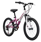 Diamondback Bicycles Youth Girls 2015 Tess 20 Complete Hard Tail Mountain Bike, 20-Inch Wheels/One Size,White
