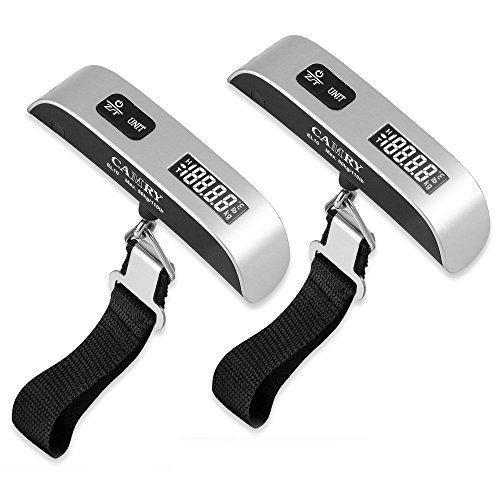 Camry Digital Hanging Postal Luggage Scale Temperature Sensor