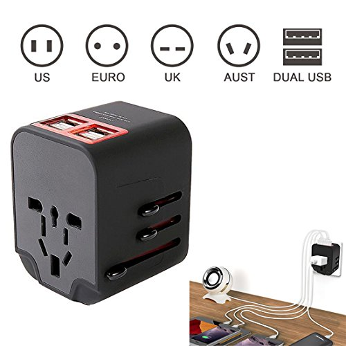 Worldwide Travel Adapter, Travel Plug Adapter Generic All in