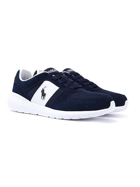 POLO RALPH LAUREN Cordell Uomo Sneaker Blu  Amazon.it  Scarpe e borse c26a642a219