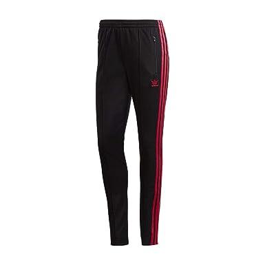 2da2a89fcb29e adidas Women Originals LEOFLAGE SST Track Pants Black DX4300 at ...