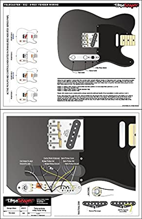 toneshaper Gitarre Verkabelung Kit, für Fender Telecaster, SS2 (4 ...