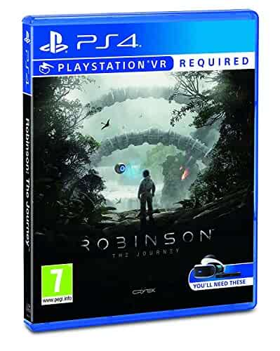 Amazon.com: Robinson: The Journey VR (PS4 VR): Video Games